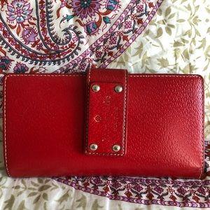 Used Kate Spade Red Wallet